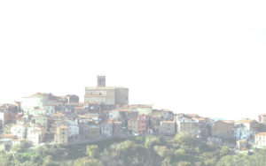 La collina di Ponzano Magra (frazione di Santo Stefano) a La Spezia